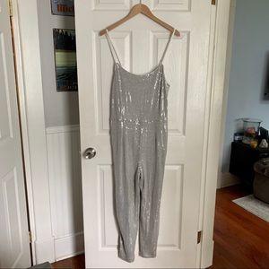 Sequined jumpsuit